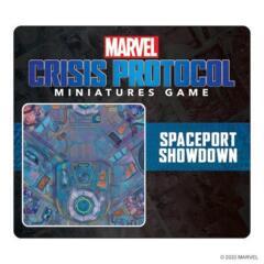 Marvel: Crisis Protocol - Game Mat - Spaceport Showdown
