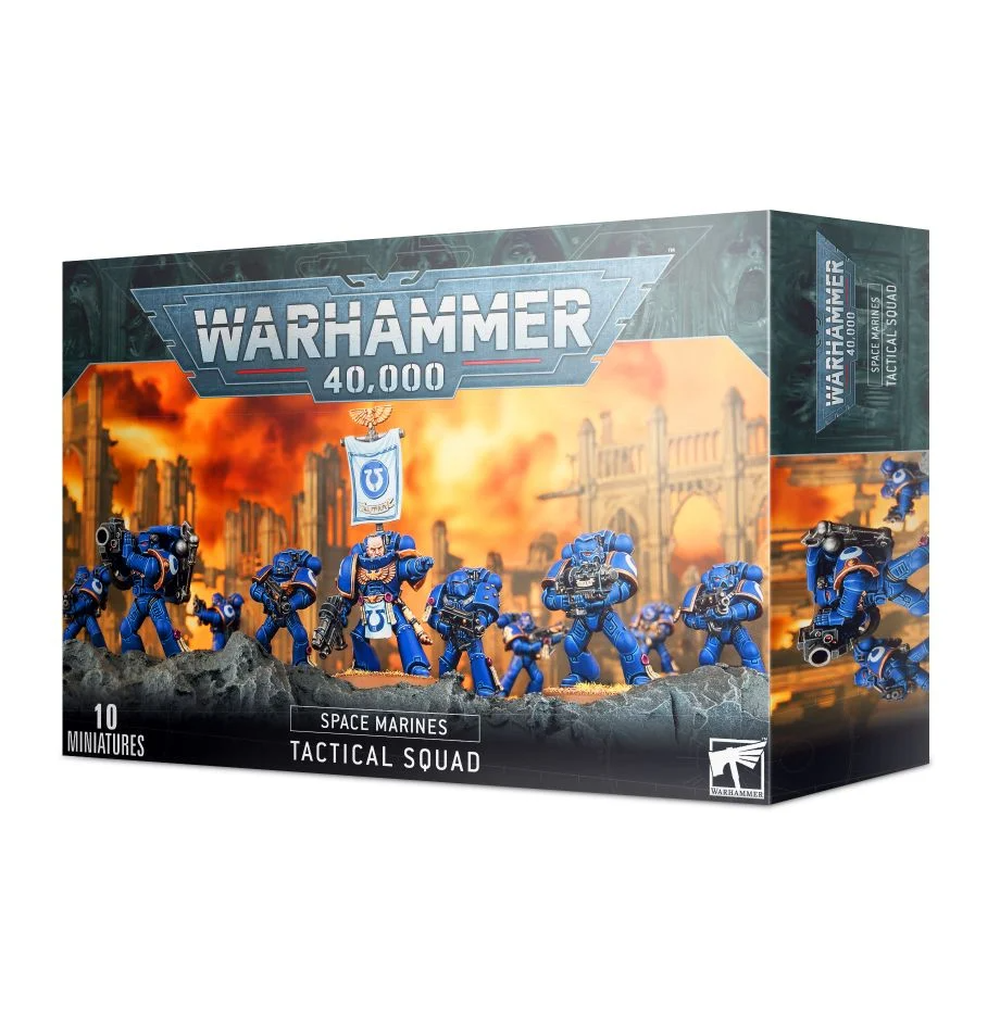 Space Marines - Tactical Squad