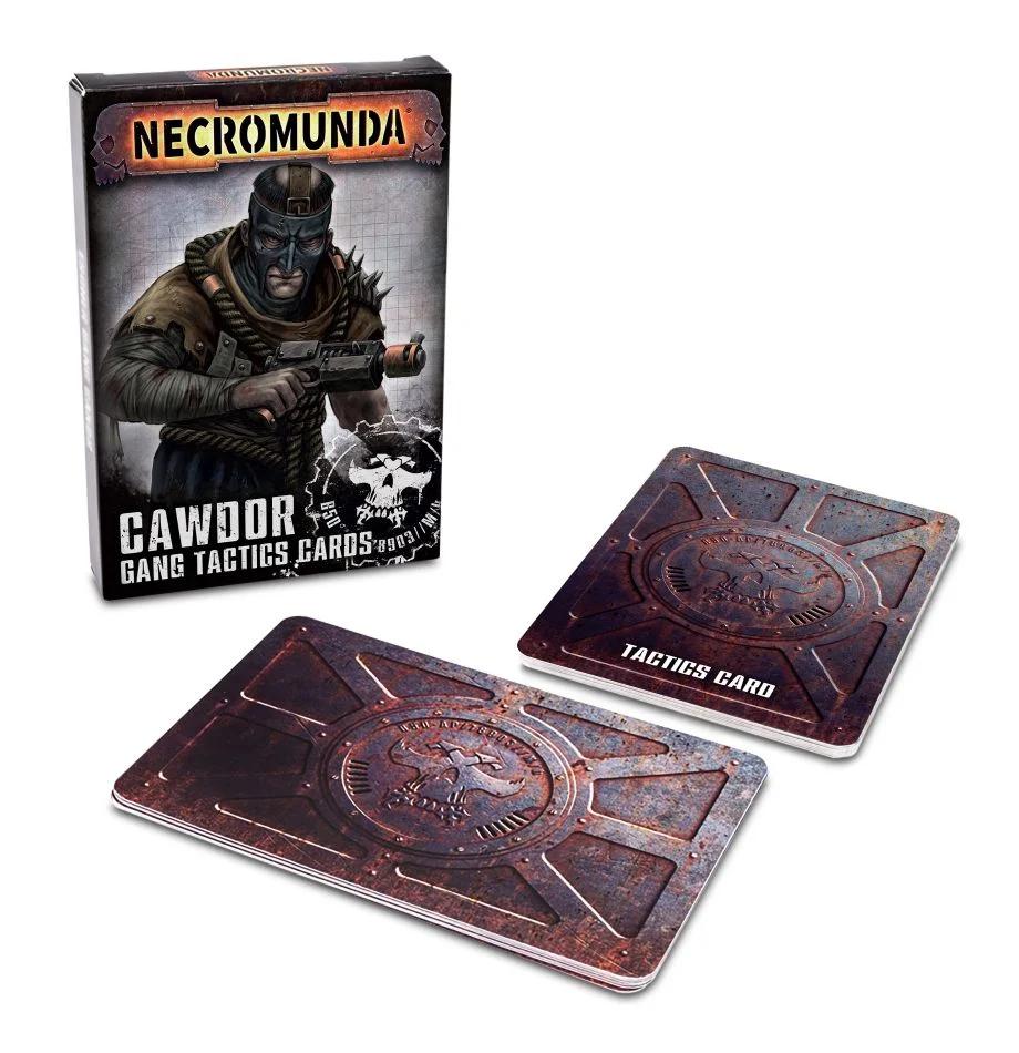 Necromunda - Cawdor Gang Tactics Cards