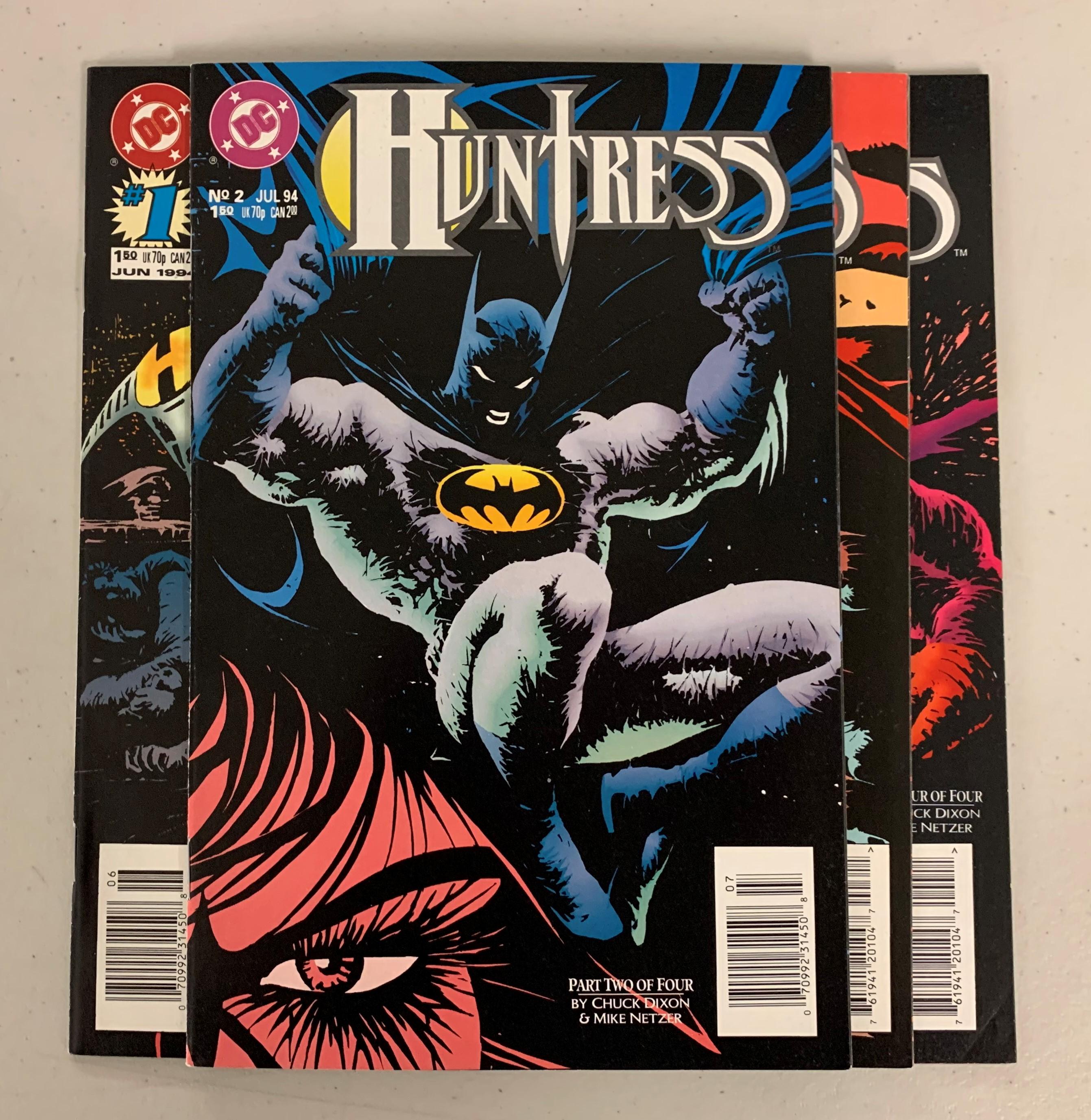 Huntress (DC 1994) #1-4 Set Chuck Dixon 1 2 3 4 (8.0-9.0)