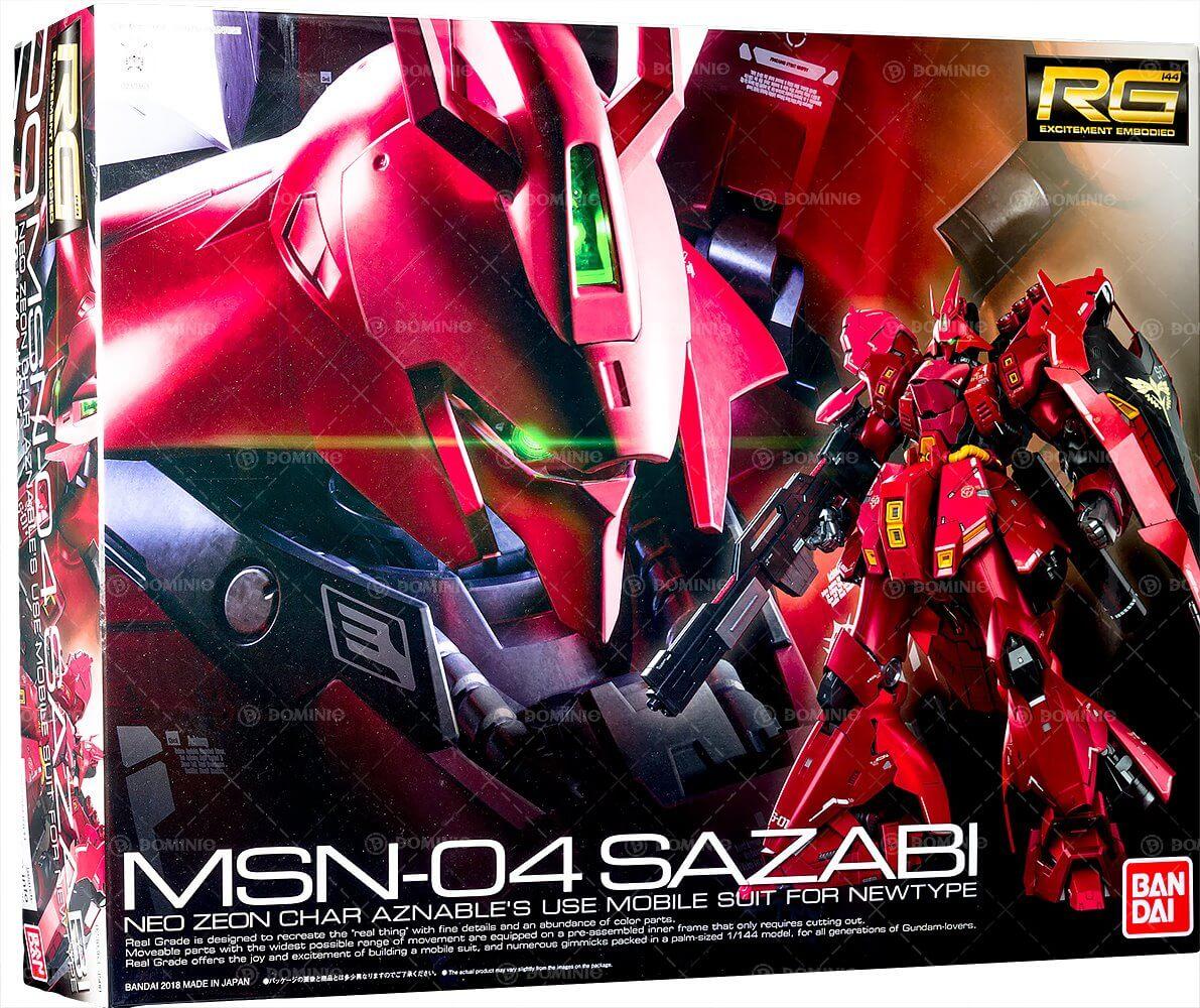 Gundam RG - MSN-04 Sazabi (1/144)