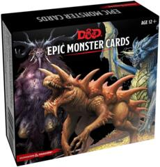 Dungeons & Dragons 5e - Monster Cards - Epic Monster Cards