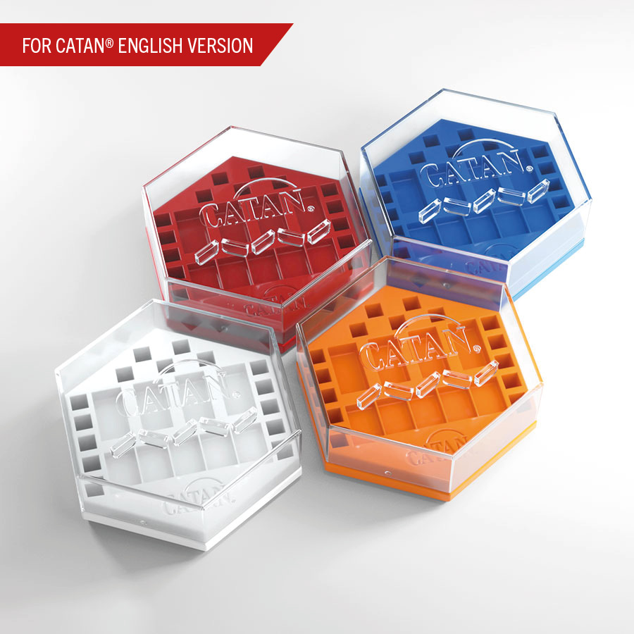 Gamegenic - Catan - Hexadocks Base Set