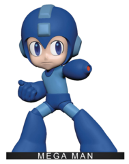 Icon Heroes Polystone Bobblehead - Mega Man