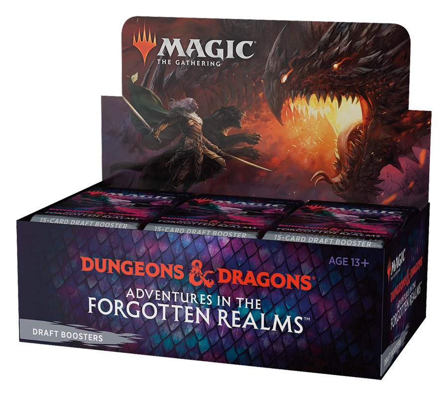 Adventures in the Forgotten Realms Draft Booster Box (No store credit or pay in store)