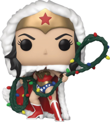 Pop! - DC Holiday Heroes - Wonder Woman with Lights Lasso (Funko)