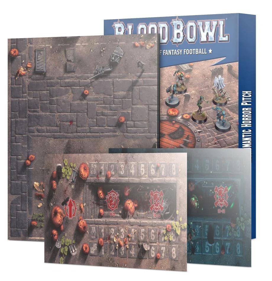 Blood Bowl - Team Pitch - Necromantic Horror