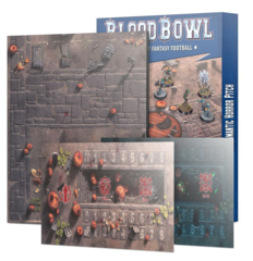 Blood Bowl - Team Pitch - Necromantic Horror