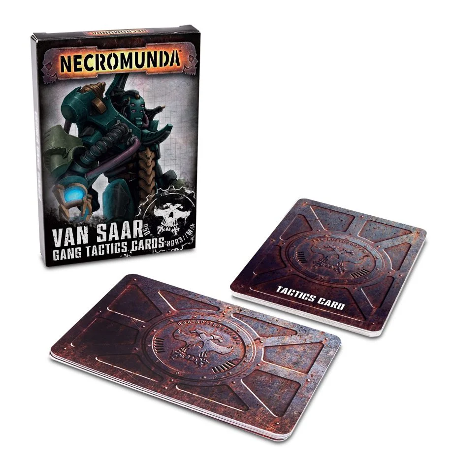 Necromunda - Van Saar Gang Tactics Cards