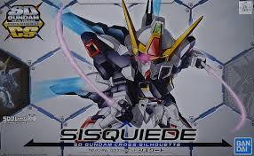 Gundam SD Cross Silhouette - Sisquiede