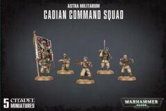 Astra Militarum - Cadian Command Squad