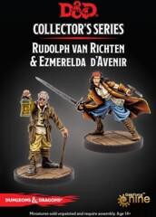 D&D Collector's Series - Curse of Strahd - Rudolph Van Richten & Ezmerelda D'Avenir