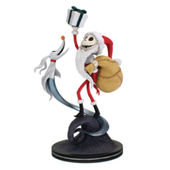 Nightmare Before Christmas - Sandy Claws Q-Fig Max Elite Diorama