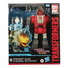 Transformers Generations - The Movie 86 Series #07 - Slug (Slag) & Daniel (Leader)