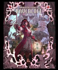 Dungeons & Dragons 5E - Van Richten's Guide to Ravenloft Atlernate Cover