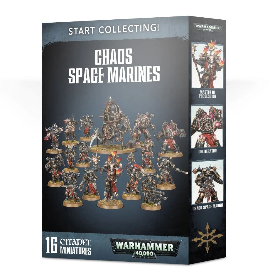 Start Collecting! - Chaos Space Marines
