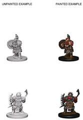 Pathfinder Battles Deep Cuts - Dwarf Male Barbarian