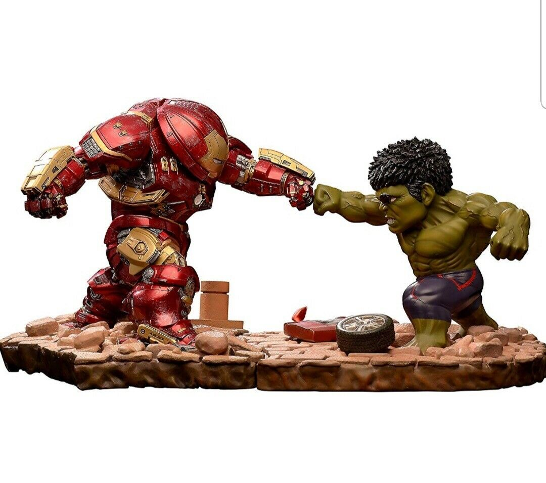 Avengers Age of Ultron - EA-021 Hulkbuster Vs Hulk Statue