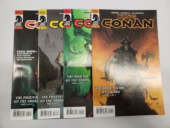 King Conan: The Phoenix on the Sword (2012) #1-4 (8.0+)