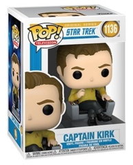 Pop! Televison - Star Trek - Captain Kirk In Chair (Funko #1136)