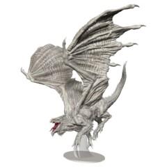 D&D Icons of the Realms - Premium Mini - Adult White Dragon
