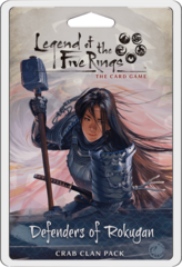 L5R Legend of the Five Rings LCG - Defenders of Rokugan Crab Clan Pack