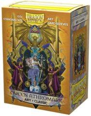 Dragon Shield - Classic Art Sleeves - Queen Athromark 100 ct