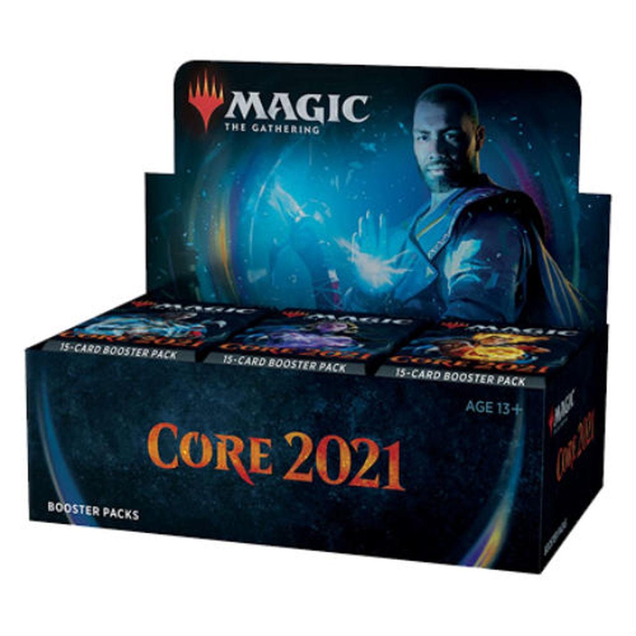 Core Set 2021 Booster Box (no store credit)