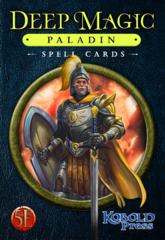 Deep Magic - Paladin Spell Cards