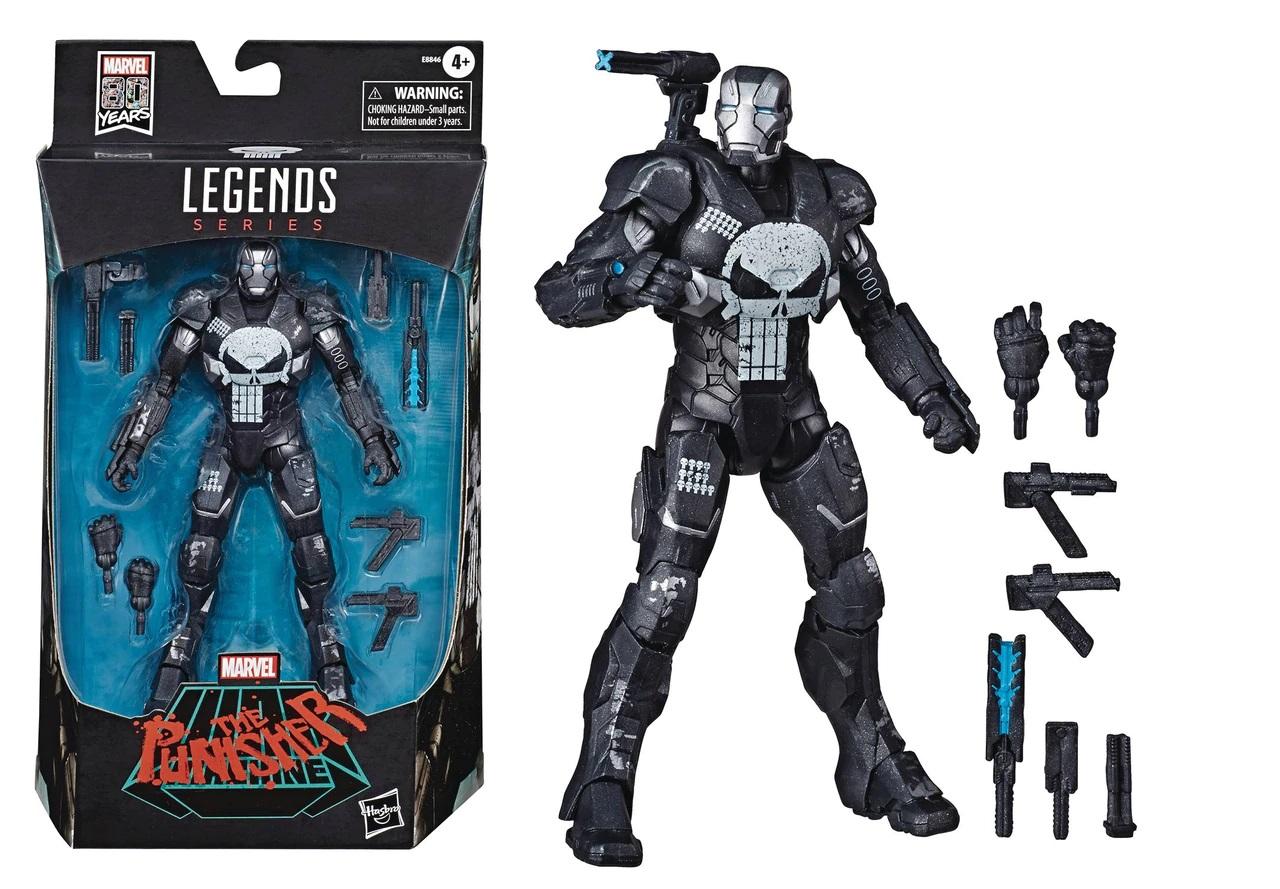 Marvel Legends - War Machine Punisher Variant Action Figure