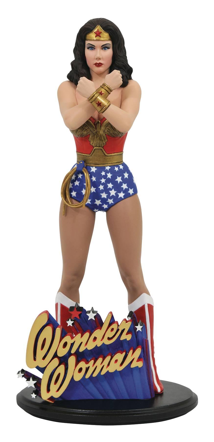 DC Gallery - Classic TV - Linda Carter Wonder Woman PVC Statue