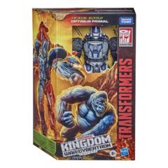 Transformers Generations War for Cybertron: Kingdom - Voyager Optimus Primal