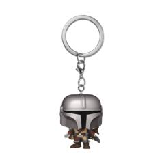 Pocket Pop! - Star Wars The Mandalorian - The Mandalorian Keychain