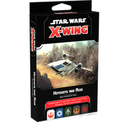 Star Wars X-Wing 2nd Ed - Hotshots and Aces Reinforcements Pack