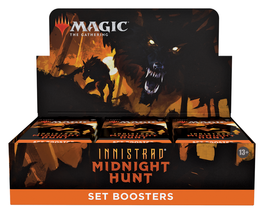 Innistrad: Midnight Hunt Set Booster Box (no store credit or pay in store)