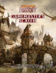 Warhammer Fantasy Role Play - Gamemaster's Screen