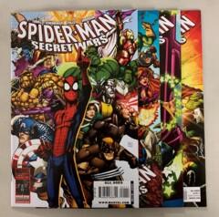 Spider-Man Secret Wars #1-4 set (Marvel 2009) 1 2 3 4 Paul Tobin (9.0+)