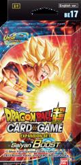 Dragon Ball Super - BE17 Expansion Set 17 - Saiyan Boost