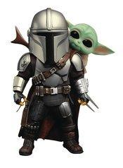 Star Wars The Mandalorian - Mandalorian & The Child Duo Action Figure Set (EAA-111)