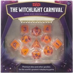 D&D The Witchlight Carnival - Premium Dice and Miscellany