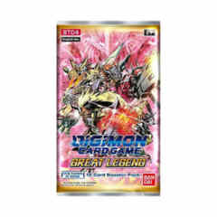 Digimon TCG - BT04 Great Legend Booster Pack