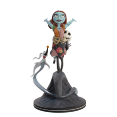Nightmare Before Christmas - Jack and Sally Q-Fig Max Elite Diorama