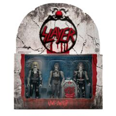 ReAction Figures - Slayer - Live Undead 3 Pack