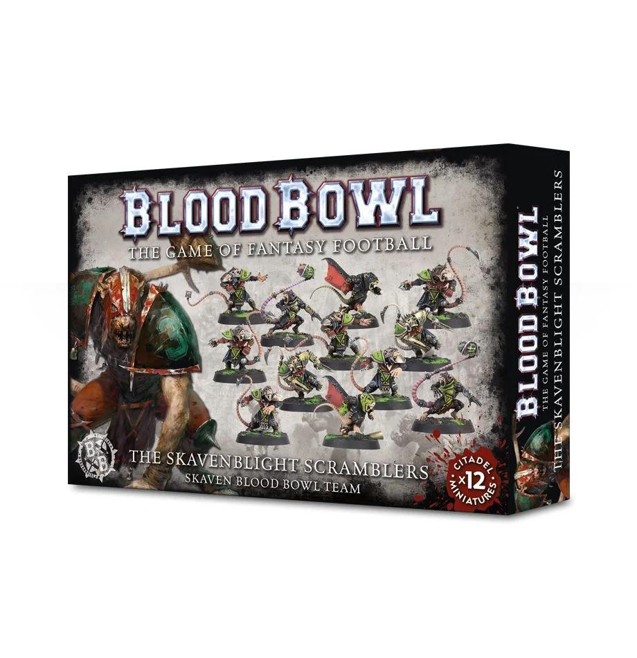 Blood Bowl - The Skavenblight Scramblers Skaven Blood Bowl Team