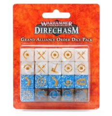 Warhammer Underworlds: Direchasm - Grand Alliance Order Dice Pack