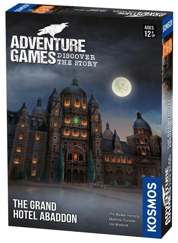Adventure Games - The Grand Hotel Abaddon