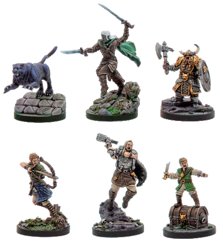 D&D Collectors Series - Drizzt & The Companions of the Hall
