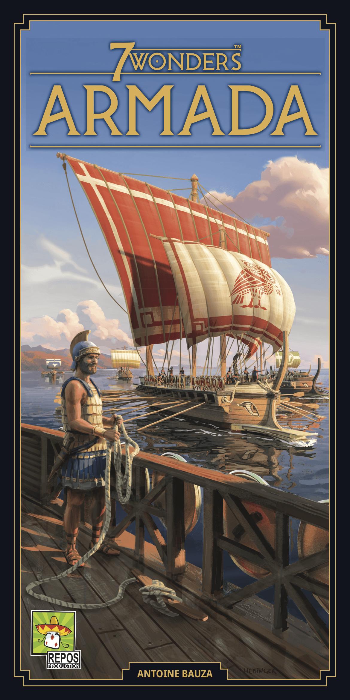 7 Wonders 2nd Edition - Armada