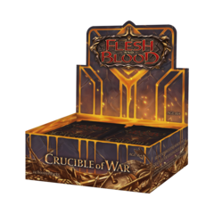 Flesh and Blood TCG - Crucible of War (1st Edition) Booster Box