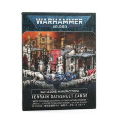 Battlezone Manufactorum - Terrain Datasheet Cards